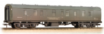 39-186 Bachmann Branchline BR MK1 BG Full Brake Departmental Olive Green Weathered